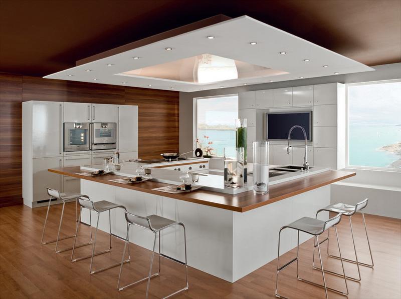 Une page blanche pour salon, salle à manger, cuisine et WC