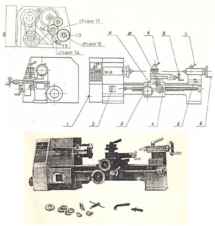 Cerco manuale tornio della valex for Cerco tornio