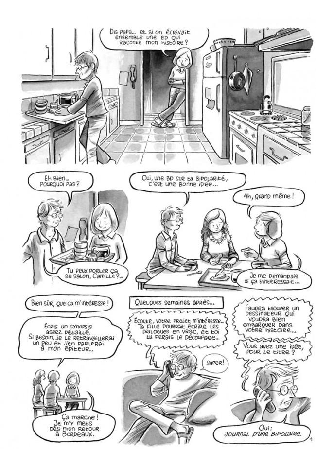 Le journal d'une bipolaire - Emilie Guillon,Patrice Guillon,Sébastien Samson