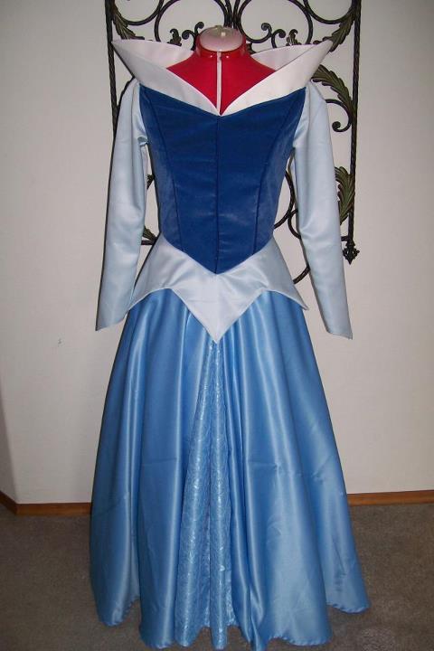 patron couture robe princesse aurore
