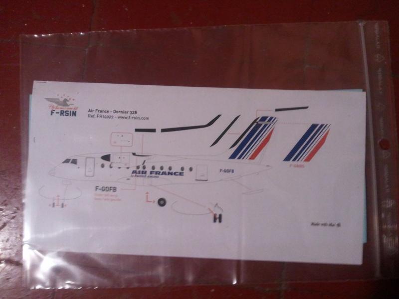 Revue du kit dornier 328 air france de f rsin - Temps de sechage peinture auto avant vernis ...