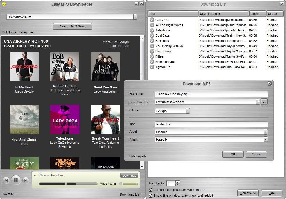 تحميل Easy Downloader 4.6.7.8 لتحميل ملفات الصوتية بوابة 2014,2015 screen10.jpg