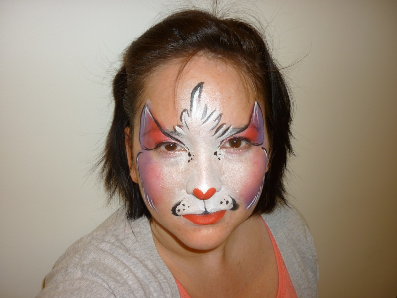 Sexy Cat Face Paint http://www.facepaintforum.com/t4211p30-kitty-cat-designs