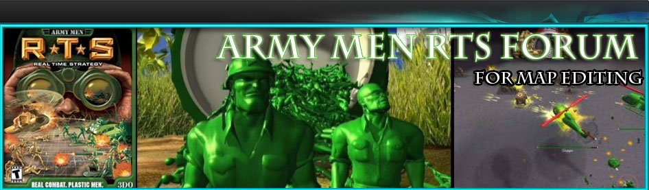 Army Men RTS Forum For Map Makers