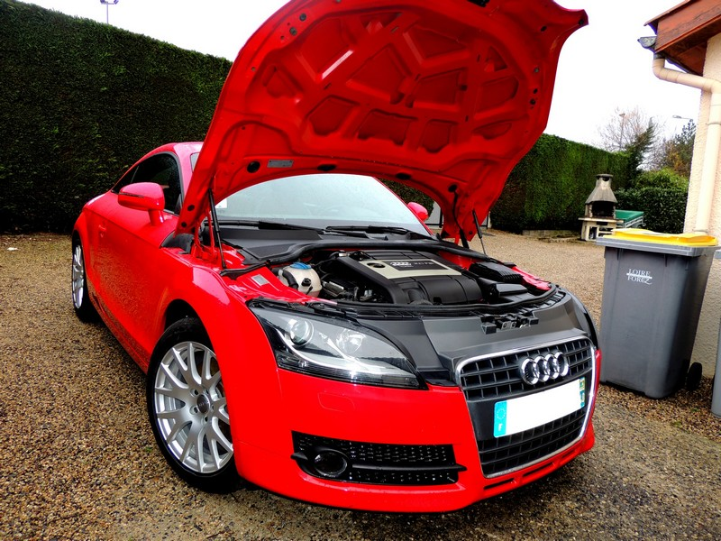 mon audi tt mk2 rouge. Black Bedroom Furniture Sets. Home Design Ideas