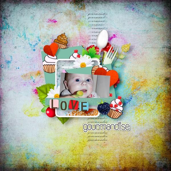 page kittyscrap a deguster en amoureux simplette scrap