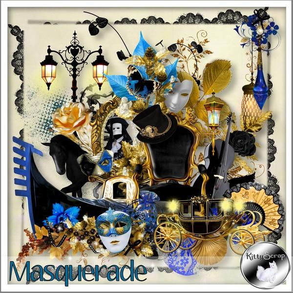 Masquerade de Kittyscrap dans Février kittys28