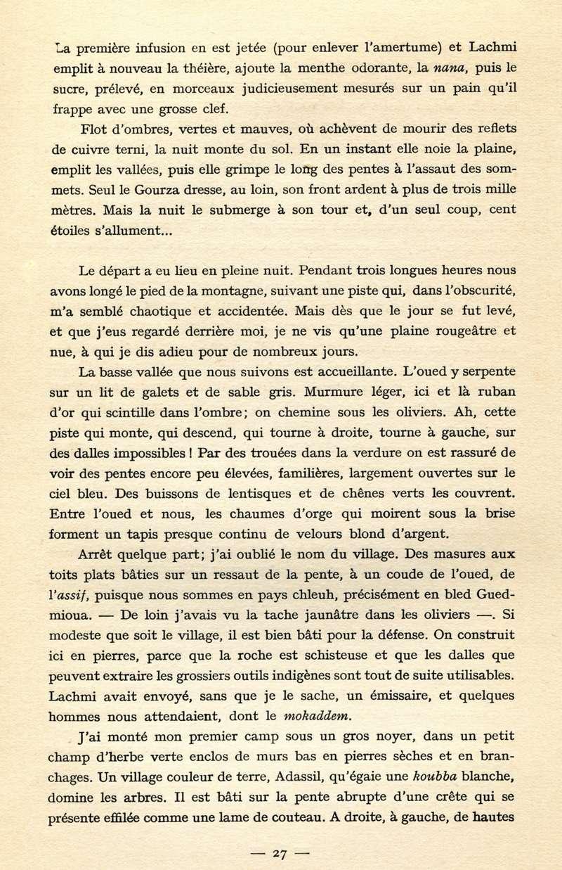 Au Maroc Inconnu Dans Le Haut Atlas Et Le Sud Marocain Page 2