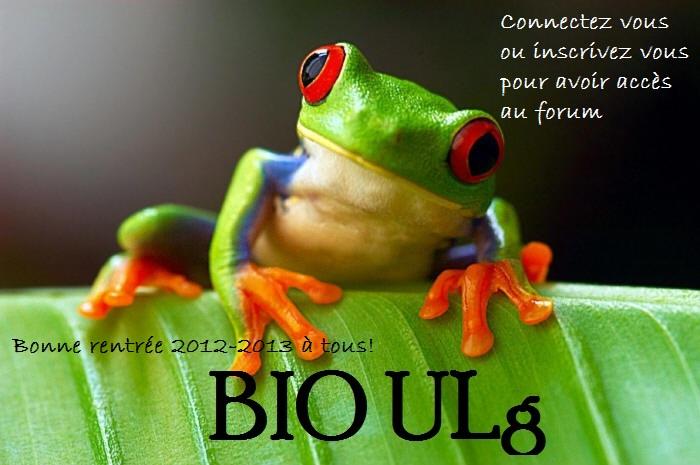 Forum pour les étudiants en biologie