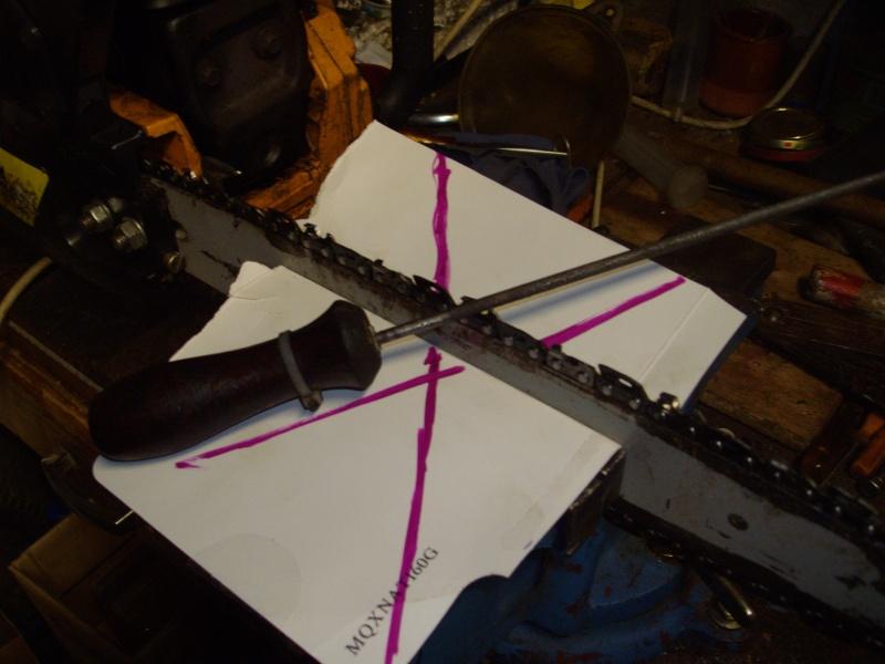 Affutage la lime chaine tron onneuse - Angle affutage chaine tronconneuse ...