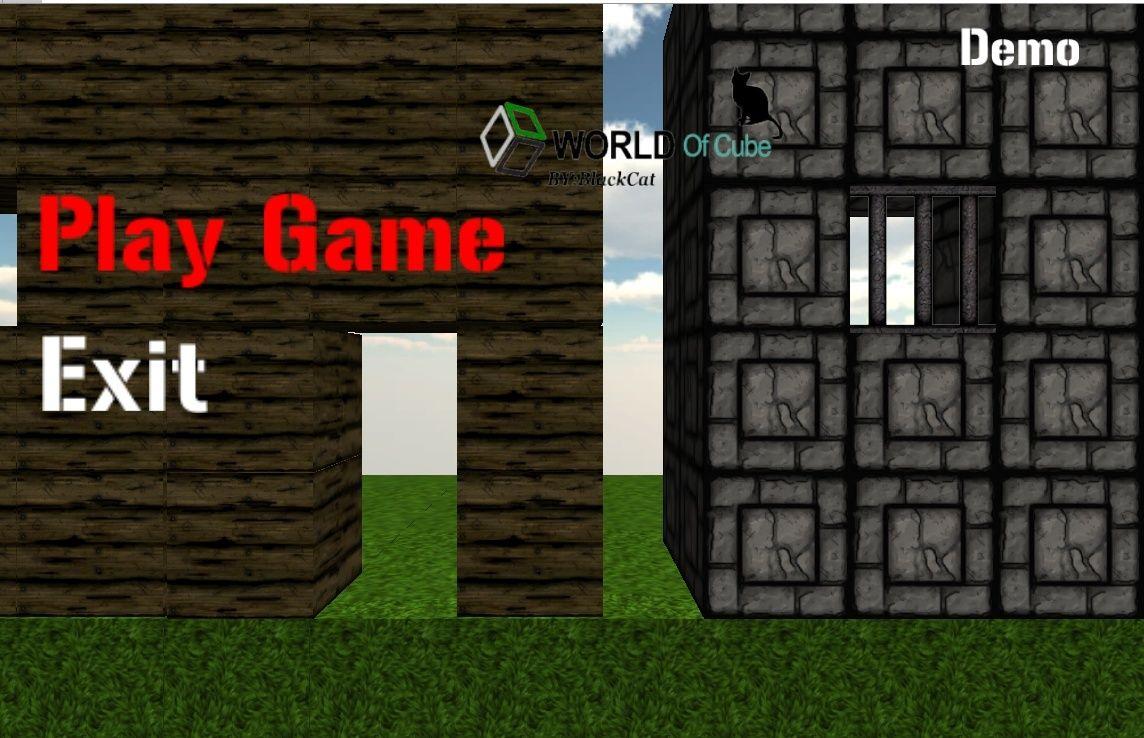 صورة من القائمة الرئيسية World Of Cube
