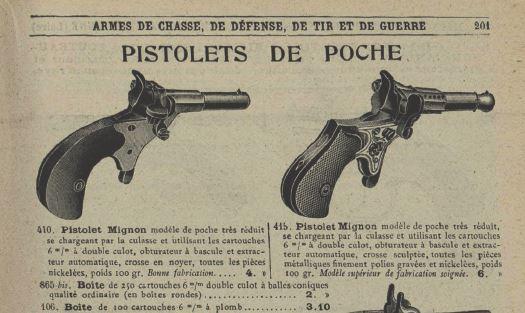 Pistolet cycliste for Pistolet de salon