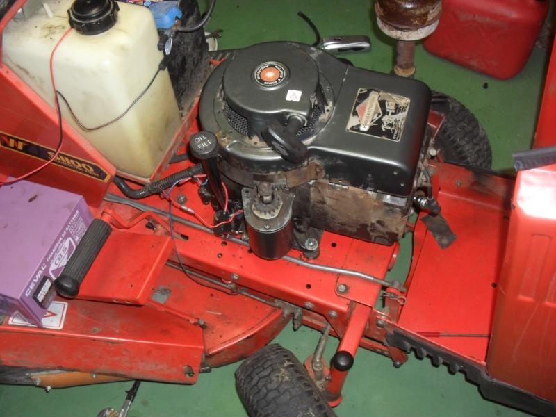 r u00e9paration moteur brigges  u0026 stratton 11 hp dit serr u00e9