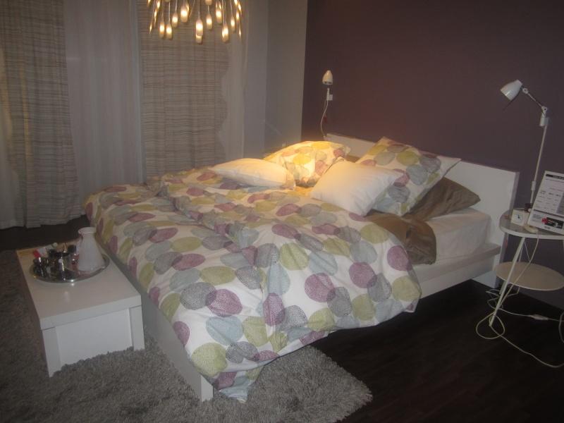 Une chambre coucher ou comment conciler mes envies et Decoration chambre a coucher romantique