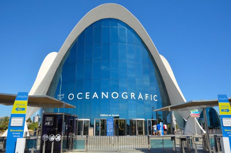 Acquario oceanografico di valencia spagna for Oceanografico valencia
