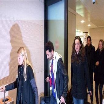 وصول النجم محمد صلاح إلى إيطاليا