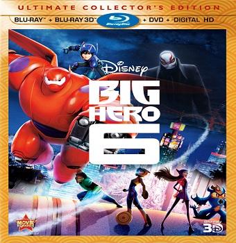 فيلم Big Hero 6 2014 مترجم نسخة بلـــــورى