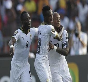 أهداف مباراة غانا 3 x غينيا الأستوائية 0