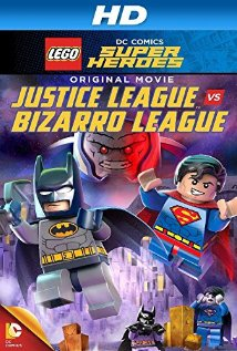فيلم Lego Super heroes JL vs Bizarro League 2015 مترجم