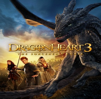 فيلم Dragonheart 3 The Sorcerers Curse 2015 مترجم WEB-DL