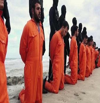 داعش تذبح 21 مصريا في ليبيا + تعليق الرئيس