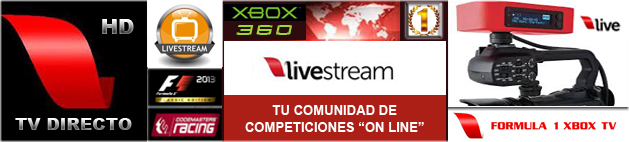 F1 Xbox TV - LiveStream / Formula 1 TV / Moto GP TV.