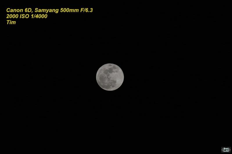 levée de la lune