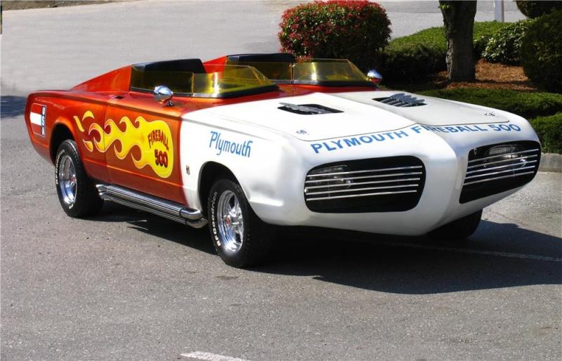 "1965 PLYMOUTH BARRACUDA CUSTOM ""FIREBALL 500"""