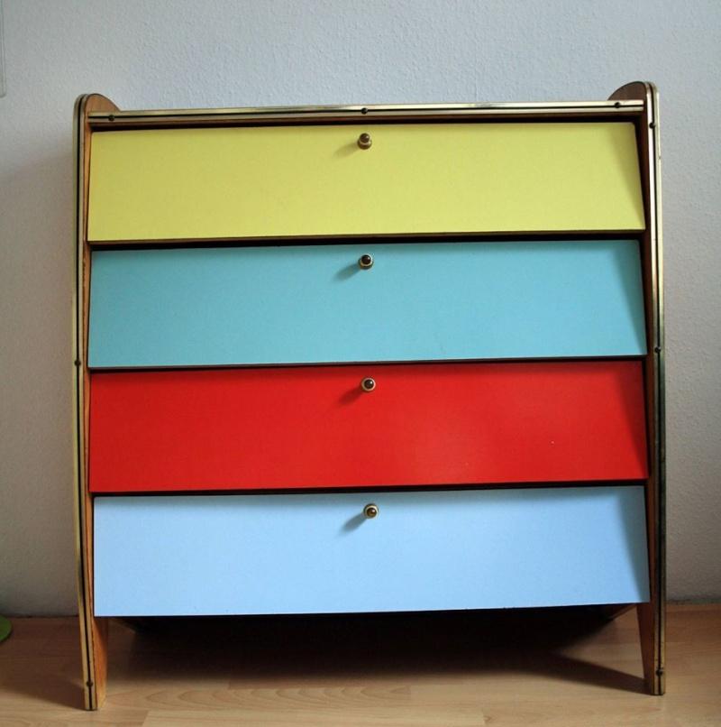 Petits meubles commodes et tables de chevet for Schuhschrank 50er jahre