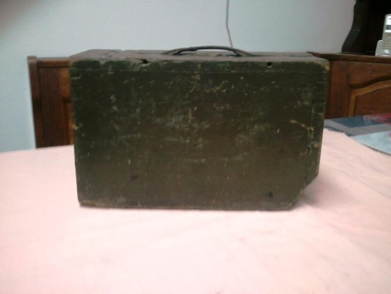 caisse de munition en bois pour mitrailleuse browning 1917 cal 30. Black Bedroom Furniture Sets. Home Design Ideas
