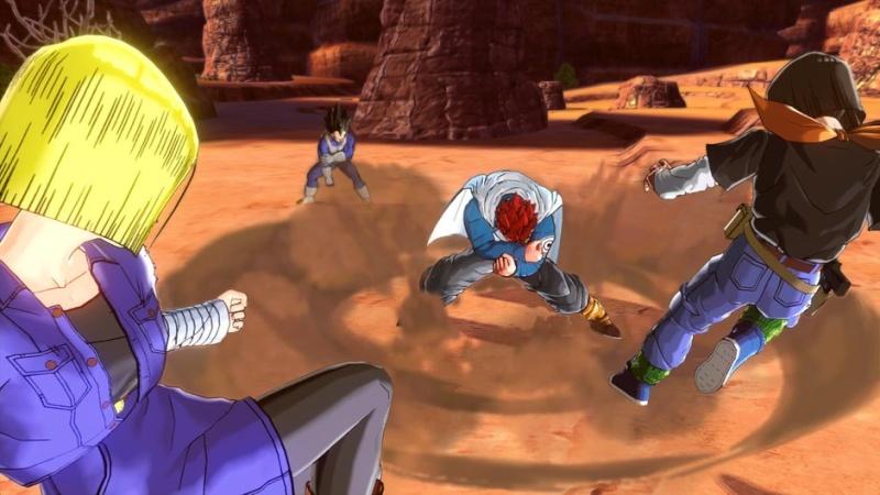 حصريا لعبة الاكشن والقتال المنتظرة DRAGON BALL XENOVERSE 2015 بنسخة ريباك