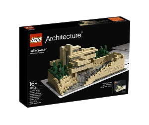 La casa de la cascada de lego