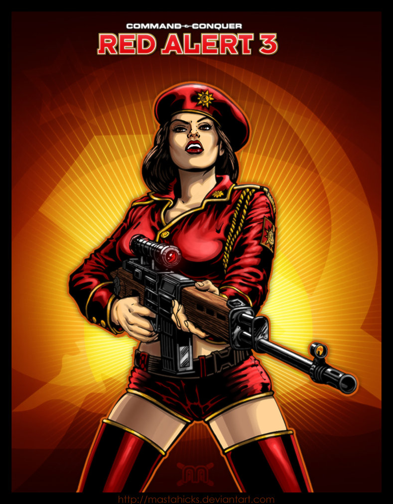 Natasha Volkova - Command & Conquer: Red Alert 3 (PC Windows, Mac OS, Xbox 360, PS3)