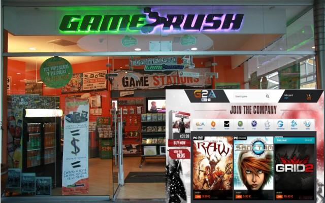 Venta de juegos físicos en tiendas especializadas como Gamerush, Gameplanet, Gamers, Amazon, Ebay o con la venta de juegos digitales con G2A, Game Fans Shop, Kinguin o Fast2play.
