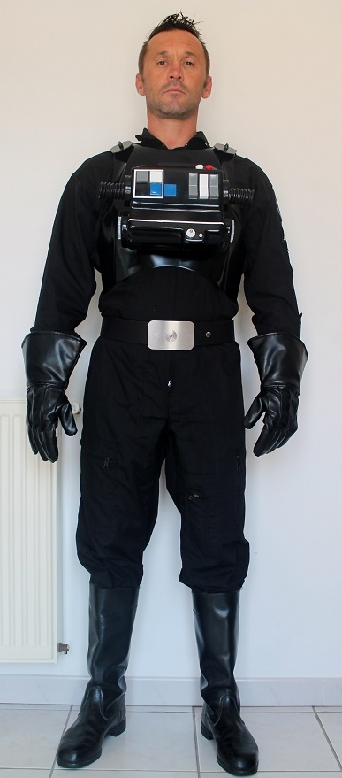 how to make a tie pilot costume