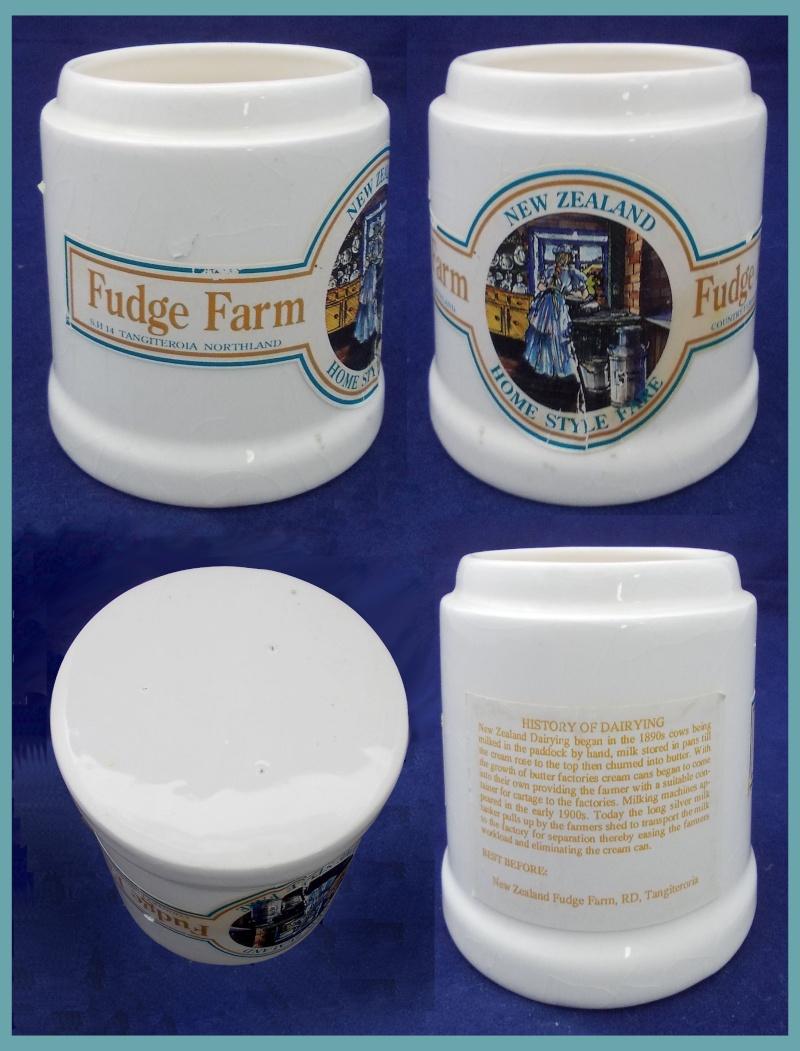 Salt Lamps Northland : Fudge Farm Northland s white pot. Who made the pot?