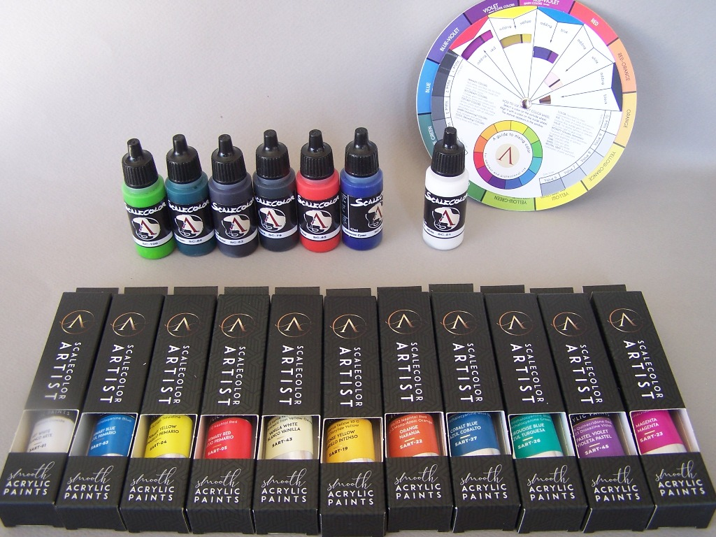 Review Scale75 Color Theory By Banshee Planetfigure Miniatures