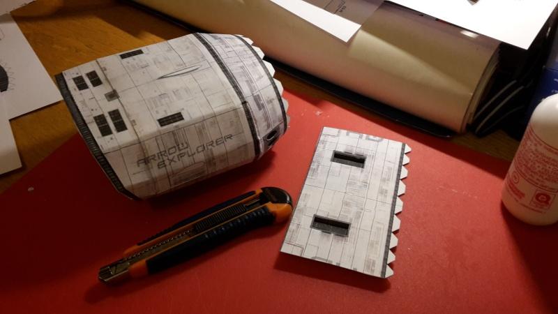 Costruisci il tuo modellino di carta della arrow freighter for Costruisci il tuo prezzo della casa