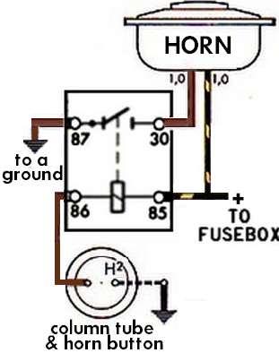 branchement centrale clignotant 6v d 39 origine page 2 67 Camaro Wiring Schematic