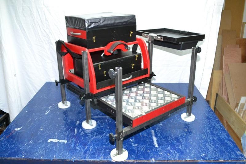 Fabrication d 39 une station de p che bois acier alu - Fabrication d une chaise en bois ...