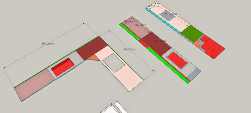 Un plan de travail en solid surface type corian for Plan de travail solid surface