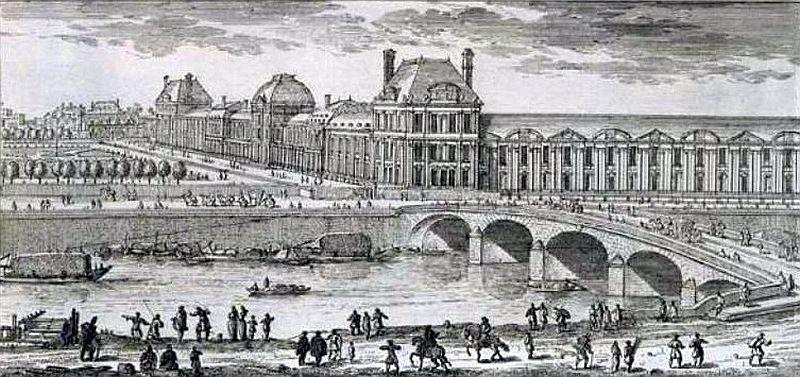 Vues anciennes du palais des tuileries page 2 - Les jardins du louvre ...