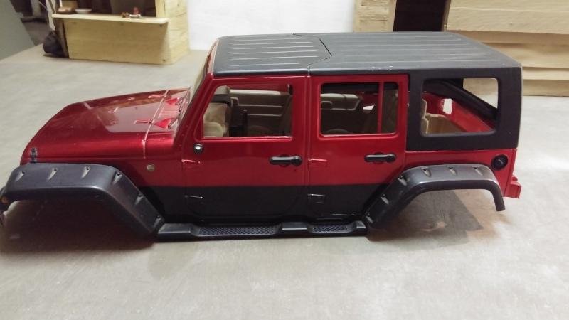 jeep jk unlimited polar edition et sa petite s ur. Black Bedroom Furniture Sets. Home Design Ideas