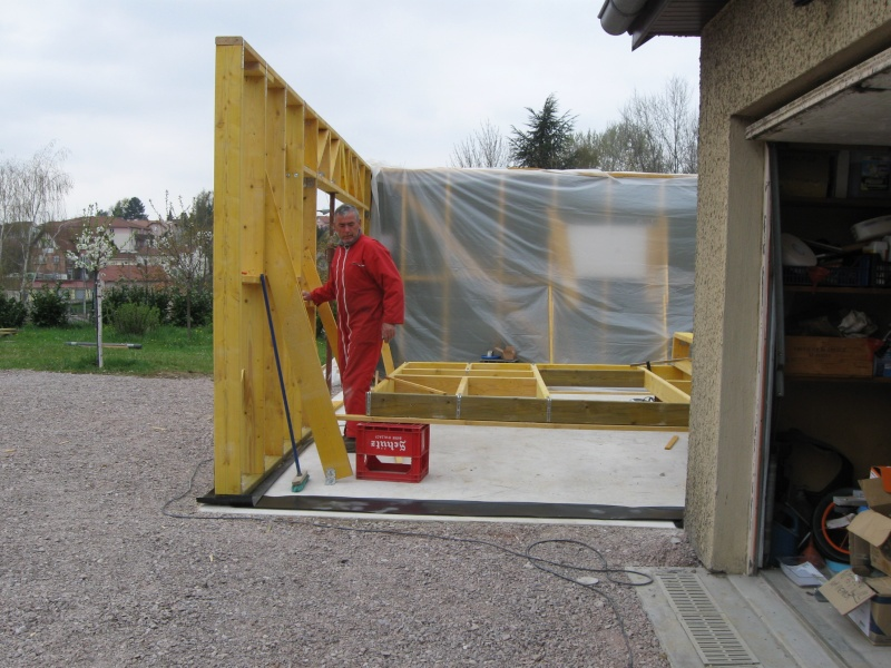 Construction d 39 un garage ossature bois - Autoconstruction garage ossature bois ...