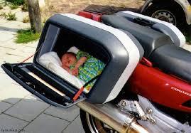 poussette bebe moto