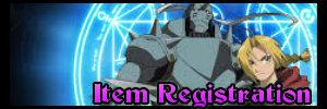 Weapon/Item Registration