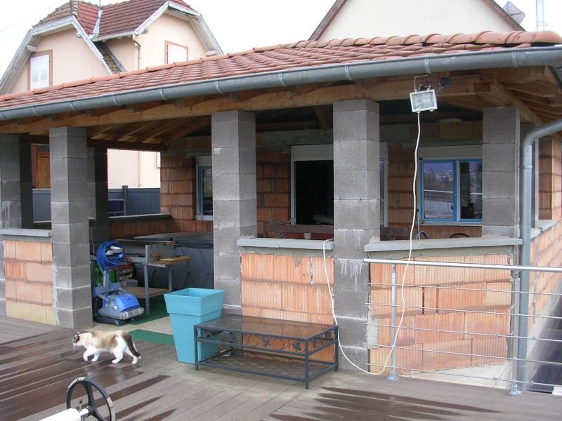 Pose ossature m tallique nouvelle cuisine pose placo et fen tre - Agrandissement cuisine sur terrasse ...