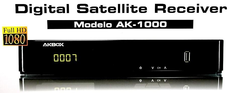 Colocar CS akbox 12 ATUALIZAÇÃO AKBOX AK 1000 (versão: 005) 30/10/2015 comprar cs