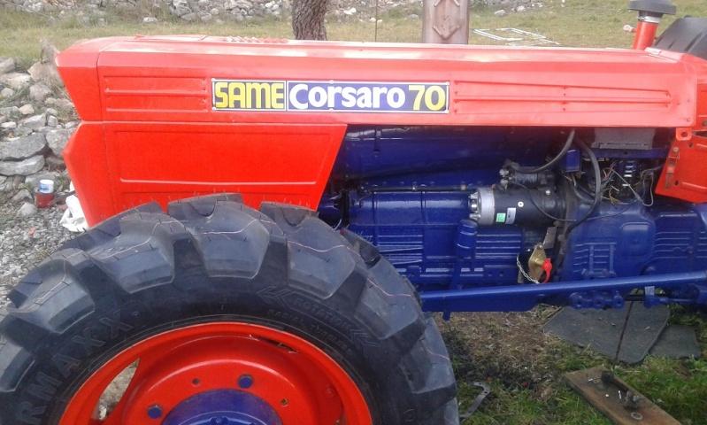 Tracteur same corsaro 70
