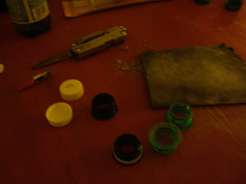 tuto capsule tanche en plastique. Black Bedroom Furniture Sets. Home Design Ideas